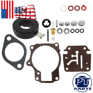 Carburetor Carb Rebuild Repair Kit For Johnson Evinrude 18hp 20hp 25hp 28hp 30hp