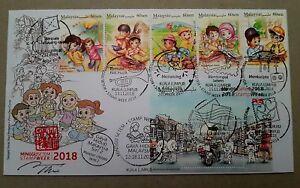 Autograph-Malaysian-Lifestyles-Stamp-Week-2018-Cinderella-Malaysia-FDC-2018
