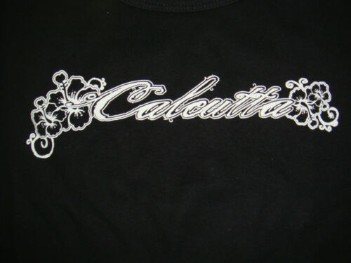 New Authentic Calcutta Ladies Black Short Sleeve T-Shirt