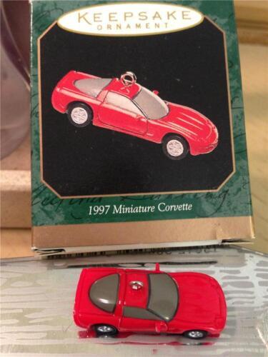 Hallmark Mini Ornaments 1997 Miniature Corvette