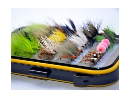 Fly Box.. 36Pieces Dry Fly Wet Fly and Nymph Fly Lure Assotment Free Shipping
