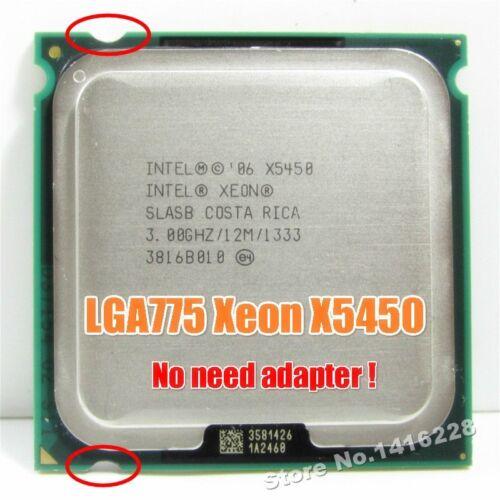 Xeon X5450 Processor 3.0GHz 12MB 1333MHz SLBBE SLASB Close to Core 2 Quad q9650