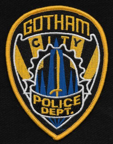 GOTHAM CITY POLICE DEPARTMENT COLLECTORS LAW ENFORCEMENT POLICE PATCH