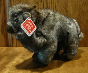 Gund-Plush-12020-BRYSON-10-034-long-Bison-mint-w-tag-NEW-from-our-Retail-Store