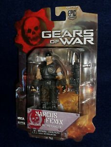 Details About Gears Of War 3 3 4 Series 1 Marcus Fenix Action Figure 3 75 Neca Xbox