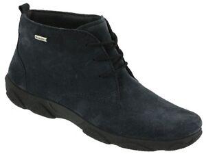Rohde 9277-55 Damenschuhe Stiefel Sympatex Stiefeletten blau 36 Neu31
