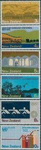 New-Zealand-1973-SG997-1002-Commemorations-set-MNH
