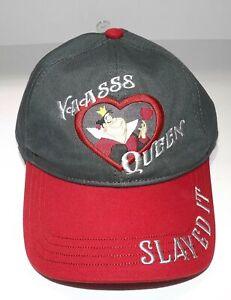 NWT Disney Yaasss Queen Slayed It Queen Of Hearts Baseball Cap Hat MSRP $27.99
