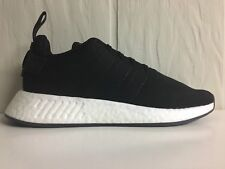 adidas Originals Mens Size 13 NMD R2 Boost Black White CQ2402