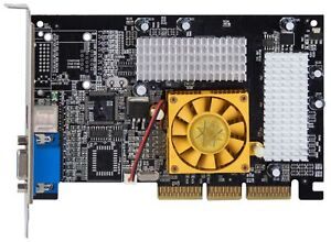NVIDIA Geforce4 MX 440 64MB AGP DDR VGA