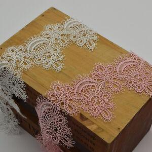 3-yards-Soft-Venise-Lace-Applique-Sewing-Trim-Bridal-For-Lingerie-and-underwear
