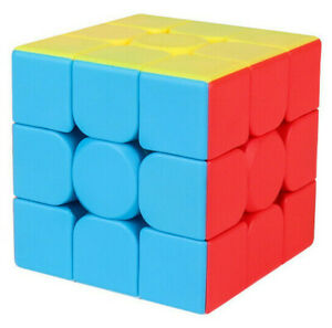 Zauberwuerfel-3x3-3c-MoYu-Meilong-stickerless-Original-speedcube-magic-cube-neu