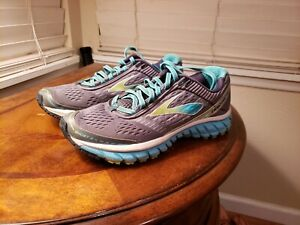 Gray Blue Athletic Running Shoes