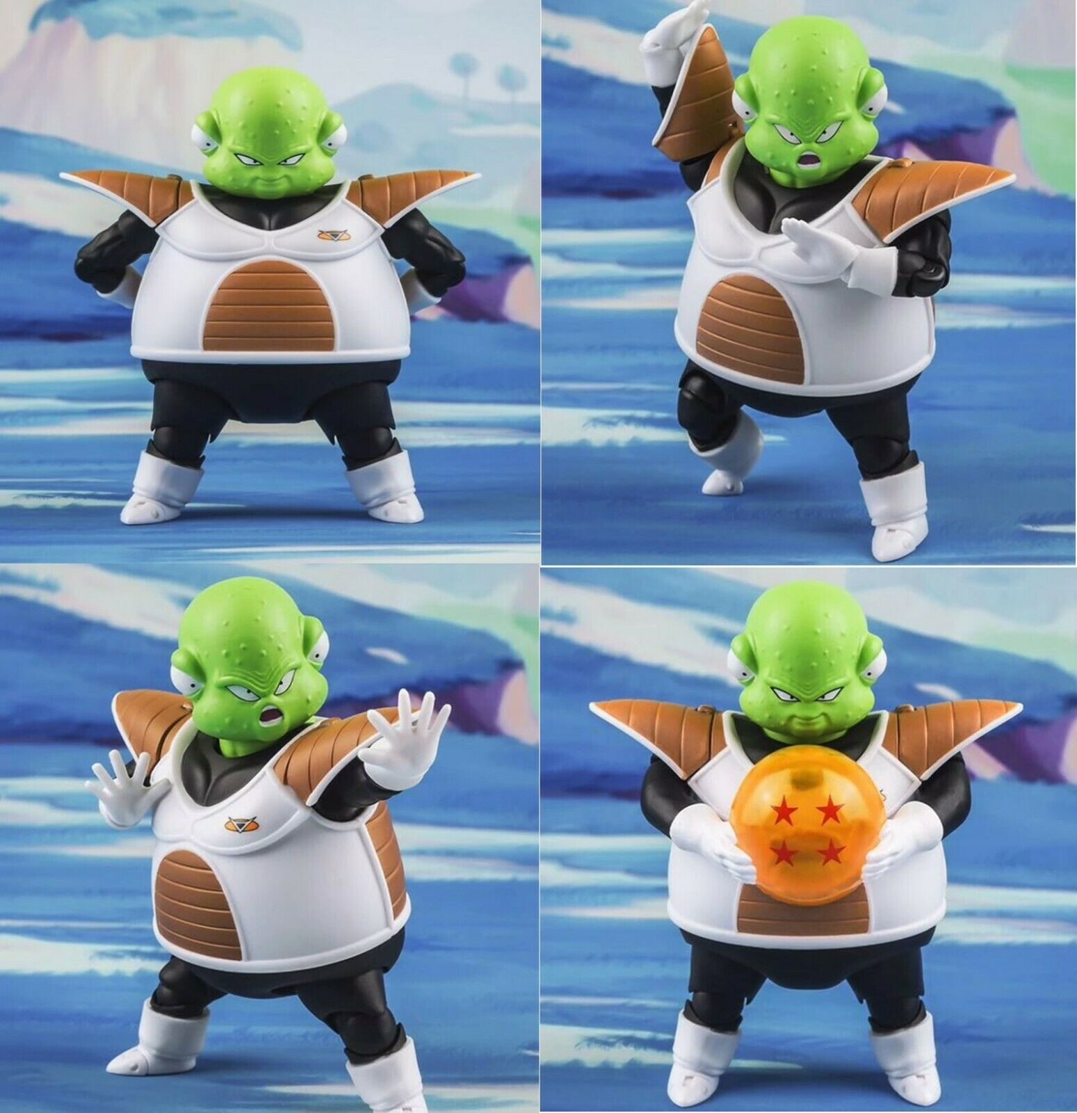 DRAGON BALL- Guldo Ginyu Force SHF Figuarts Freezer Special Forces action figure
