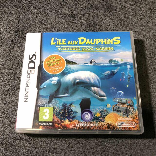 Nintendo DS L'Ile aux Dauphins FRA Excellent état