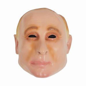 Adulto-Mascara-de-vinilo-de-Vladimir-Putin-Fancy-Dress-presidente-Accesorio