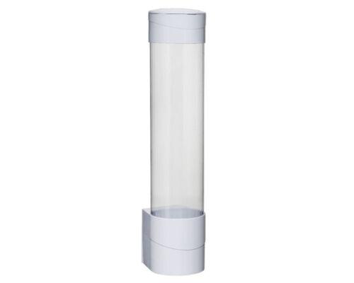 Paper Plastic Cup Dispenser Cup Holder WHITE//BLACK Brand New UK based
