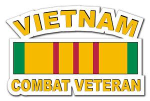 Vietnam-Combat-Veteran-5-5-034-Window-Sticker-Decal-039-Free-Shipping-039