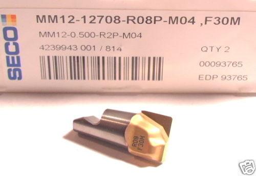 MM12-0.500-R2P-M04 12708-R08P MINIMASTER  SECO INSERTS
