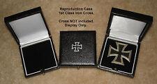 WWII WW2 German Iron Cross 1st class award medal badge box presentation case EK1