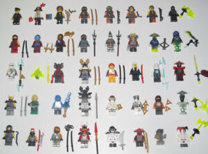 Lego-Minifigure-Figurine-Personnage-Ninja-Ninjago-Choose-Minifig-NEW