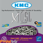 KMC X10-SL Silver 10 Speed Cycle Chain