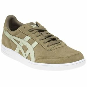 dfae35a116 New MENS ASICS TIGER GREEN KHAKI GEL-VICKKA TRS SUEDE Sneakers Retro ...