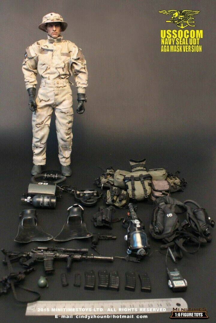 Mini Times Toys 1 6 U.S.NAVY SEAL UDT MT-M002 12'' Action Figure Military ToyS