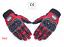 Gants-de-scooter-moto-ecran-tactile-rouge-homologue-CE miniature 1