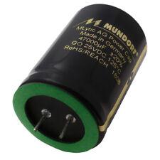 Mundorf Capacitor Elko 47000uf 25v 125 C Mlytic Ag Audio Grade 853518