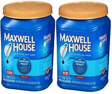2 PACK MAXWELL HOUSE GROUND COFFEE ORIGINAL ROAST 42.5 OZ - *NEW* FREE SHIPPING