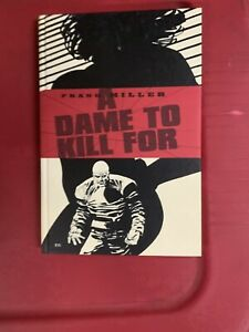 Frank-Miller-A-Dame-To-Kill-For-Hard-Cover-Book-Brand-New-1994-Dark-Horse-Comics