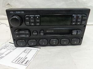 Ford-Explorer-OEM-AM-FM-Cassette-F87F19B132BA-F87FBA-E150-E250-E350-Mountaineer