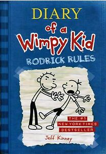 Diary-Of-A-Wimpy-Kid-Rodrick-Rules-By-Jeff-Kinney-2008-Hardcover-Book