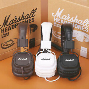 New-Headphones-Marshall-Major-Mic-Remote-HIFI-Noise-Cancelling-Deep-Bass