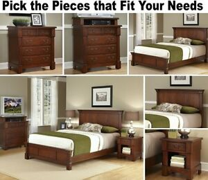 Image Is Loading Matching Cherry Bedroom Furniture Set  Dresser Drawer Nightstand