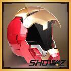 Roan X Lager Toys Avengers Iron Man MK42 MK43 Mask Helmet LED 1:1 Wearable