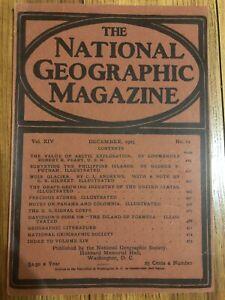 REPRINT-National-Geographic-Magazine-December-1903-Vol-XlV-No-12-Glaciers