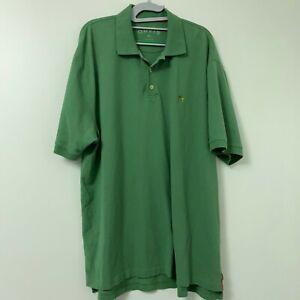 ORVIS-Men-039-s-Green-Fishing-Short-Sleeve-Logo-Rugby-Polo-Shirt-Size-XL