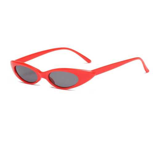 Women Fashion UV 400 Skinny Narrow Frame Sunglasses Ladies Sun Glasses Eyewear