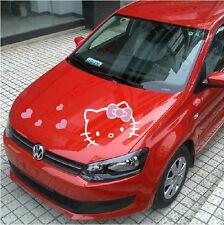 Car Sticker Rabbit Hood Cover Decal Cute Vinyl Wrap Anime Cartoon