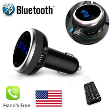 Wireless Bluetooth LCD FM Transmitter Modulator Car Kit MP3 Player SD Remote