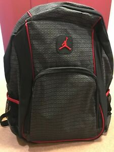 835c40a96899 NWT NIKE MICHAEL JORDAN JUMPMAN BOOKBAG PADDED LAPTOP BACKPACK BLACK ...