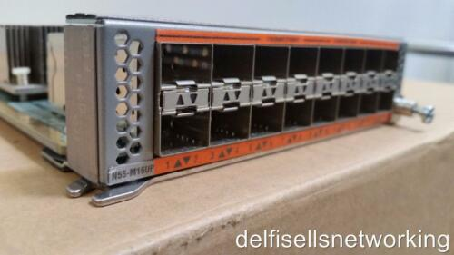 Cisco N55-M16UP Nexus 5500 Unified Module 16p 10GE Eth//FCoE OR 16p 8//4//2//1G FC