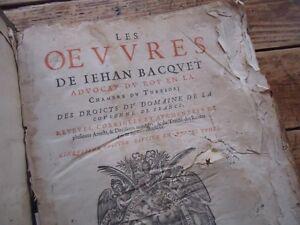 LES-OEUVRES-DE-JEAN-BACQUET-1611-IEHAN-BACQVET-AVOCAT-DU-ROY-3VOL-EN-1-DROITS