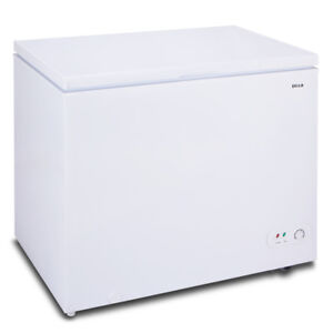 NEW Chest Deep Freezer 6.9 cu ft Size Compact Upright Top Dorm ...