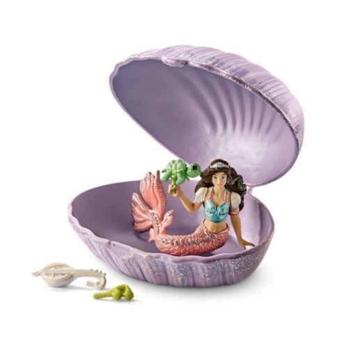 2018 Schleich® 70562 bayala Meerjungfrau mit Baby-Schildkröte in Muschel