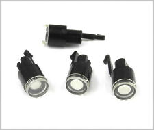 """FOUR Black/White Lampless """"Winky"""" Buttons For Standard Schadow Type Switches. YG"""