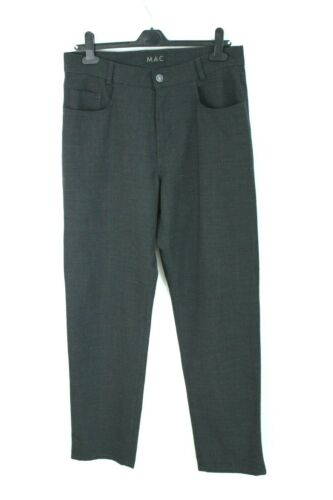 MAC dark grey classic wool regular fit regular wai