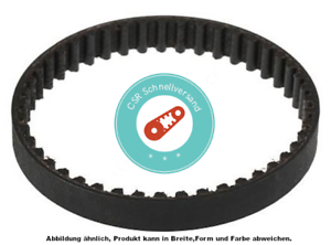 Courroie de distribution 295-5m-15-295-rpp5-15 59 Dents par exemple adapté pour scarificateur pour Pelouse Wolf
